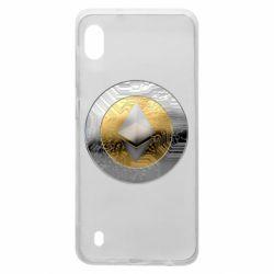 Чехол для Samsung A10 Cryptomoneta