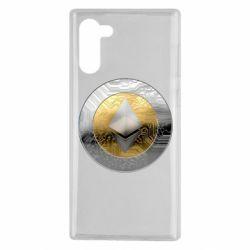 Чехол для Samsung Note 10 Cryptomoneta