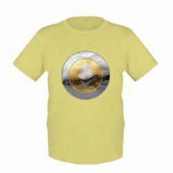 Детская футболка Cryptomoneta