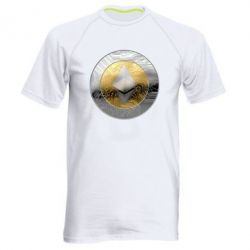 Мужская спортивная футболка Cryptomoneta