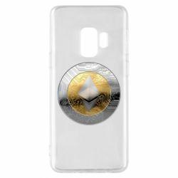 Чехол для Samsung S9 Cryptomoneta