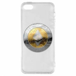 Чехол для iPhone5/5S/SE Cryptomoneta