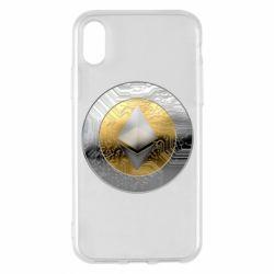 Чехол для iPhone X/Xs Cryptomoneta