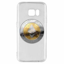 Чехол для Samsung S7 Cryptomoneta