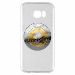 Чехол для Samsung S7 EDGE Cryptomoneta