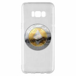 Чехол для Samsung S8+ Cryptomoneta