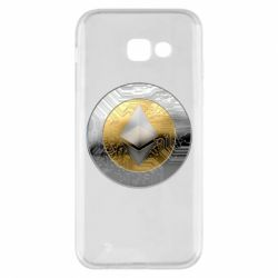 Чехол для Samsung A5 2017 Cryptomoneta