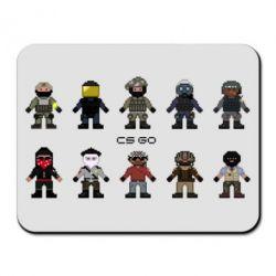 Коврик для мыши CS GO Heroes