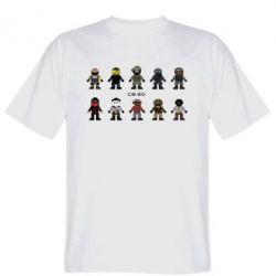 Футболка CS GO Heroes