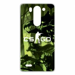 Чехол для LG G3 mini/G3s Cs go skin Virus - FatLine
