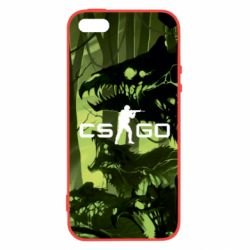 Чехол для iPhone5/5S/SE Cs go skin Virus - FatLine