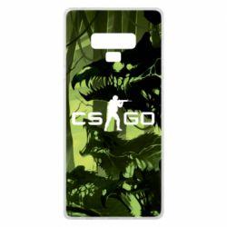 Чехол для Samsung Note 9 Cs go skin Virus - FatLine