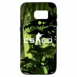 Чехол для Samsung S7 Cs go skin Virus - FatLine