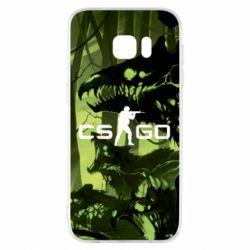 Чехол для Samsung S7 EDGE Cs go skin Virus - FatLine