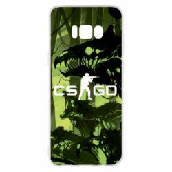 Чехол для Samsung S8+ Cs go skin Virus - FatLine