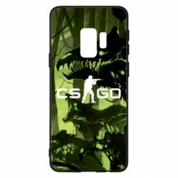 Чехол для Samsung S9 Cs go skin Virus - FatLine
