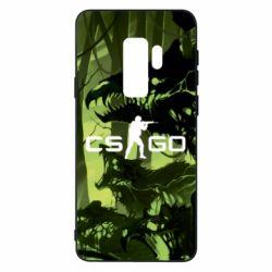 Чехол для Samsung S9+ Cs go skin Virus - FatLine