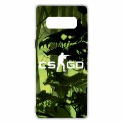 Чехол для Samsung Note 8 Cs go skin Virus - FatLine