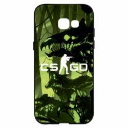 Чехол для Samsung A5 2017 Cs go skin Virus - FatLine