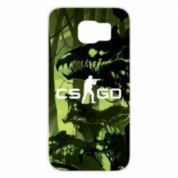 Чехол для Samsung S6 Cs go skin Virus - FatLine