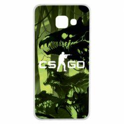 Чехол для Samsung A3 2016 Cs go skin Virus - FatLine