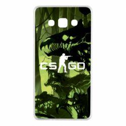 Чехол для Samsung A7 2015 Cs go skin Virus - FatLine