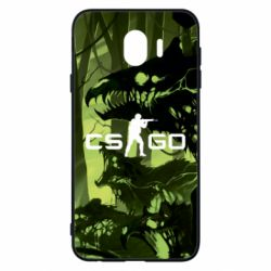 Чехол для Samsung J4 Cs go skin Virus - FatLine
