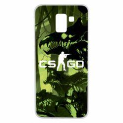 Чехол для Samsung J6 Cs go skin Virus - FatLine