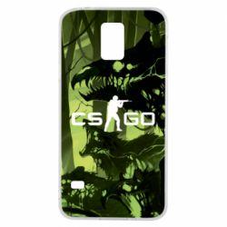 Чехол для Samsung S5 Cs go skin Virus - FatLine