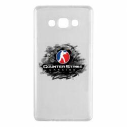 Чехол для Samsung A7 2015 CS GO Ukraine black