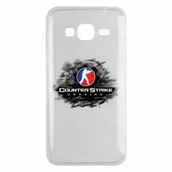 Чехол для Samsung J3 2016 CS GO Ukraine black