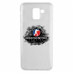 Чехол для Samsung J6 CS GO Ukraine black