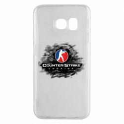 Чехол для Samsung S6 EDGE CS GO Ukraine black