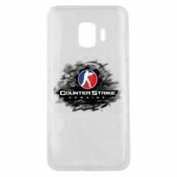 Чехол для Samsung J2 Core CS GO Ukraine black