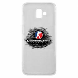 Чехол для Samsung J6 Plus 2018 CS GO Ukraine black