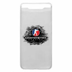 Чехол для Samsung A80 CS GO Ukraine black