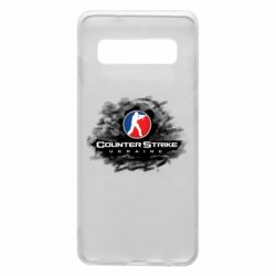 Чехол для Samsung S10 CS GO Ukraine black