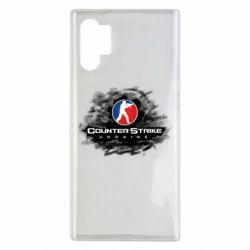 Чехол для Samsung Note 10 Plus CS GO Ukraine black