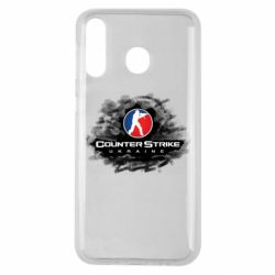 Чехол для Samsung M30 CS GO Ukraine black