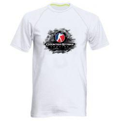 Мужская спортивная футболка CS GO Ukraine black