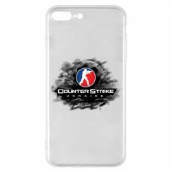 Чехол для iPhone 7 Plus CS GO Ukraine black