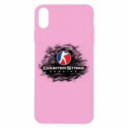 Чехол для iPhone X/Xs CS GO Ukraine black
