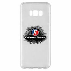 Чехол для Samsung S8+ CS GO Ukraine black