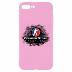 Чехол для iPhone 8 Plus CS GO Ukraine black