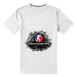 Мужская стрейчевая футболка CS GO Ukraine black