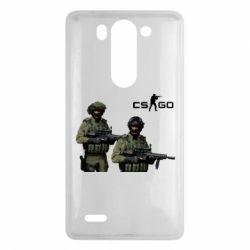 Чехол для LG G3 mini/G3s CS GO - FatLine