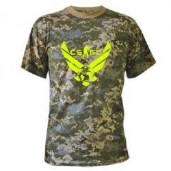 Камуфляжная футболка CS GO