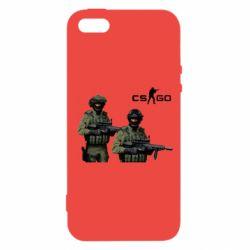 Чехол для iPhone5/5S/SE CS GO - FatLine