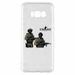 Чехол для Samsung S8 CS GO - FatLine