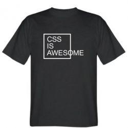 Чоловіча футболка CSS is awesome